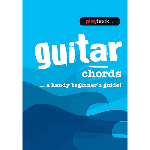 Music Sales Playbook - Guitar Chords (A Handy Beginner's Guide!) Music Sales America Series Softcover by Various-thumbnail