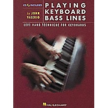 Hal Leonard Playing Keyboard Bass Lines Left-Hand Technique for Keyboards Book/CD