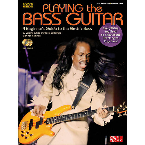 Cherry Lane Playing The Bass - A Beginner's Guide to the Electric Bass Revised Edition Book/CD