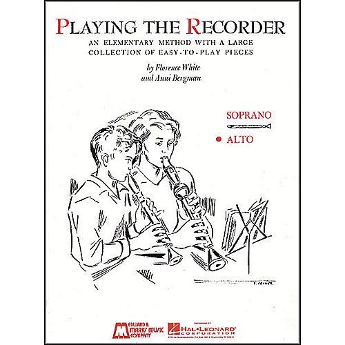 Hal Leonard Playing The Recorder (Alto)-thumbnail