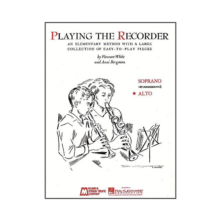 Hal Leonard Playing The Recorder (Alto)