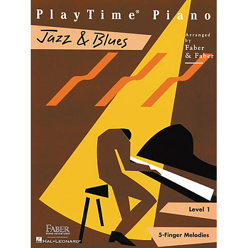 Faber Piano Adventures Playtime Jazz & Blues L1-thumbnail