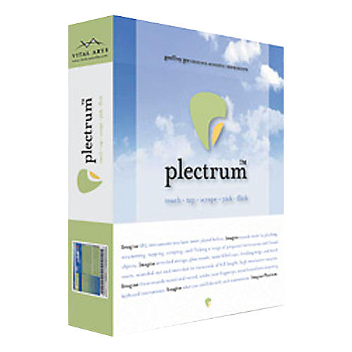 Vital Arts Plectrum Instrument Library Software