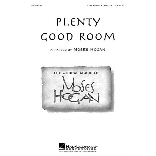 Hal Leonard Plenty Good Room TTBB Div A Cappella arranged by Moses Hogan-thumbnail