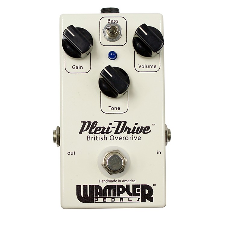 Wampler Plexi Drive British Overdrive Guitar Effects Pedal