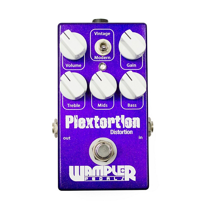 Wampler Plextortion Distortion Guitar Effects Pedal
