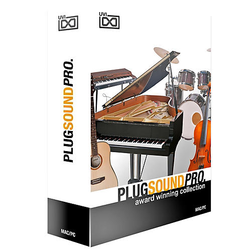UVI PlugSound Pro Music Store in a Box Software Download