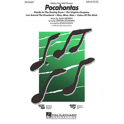 Hal Leonard Pocahontas (Medley) ShowTrax CD Arranged by Roger Emerson-thumbnail