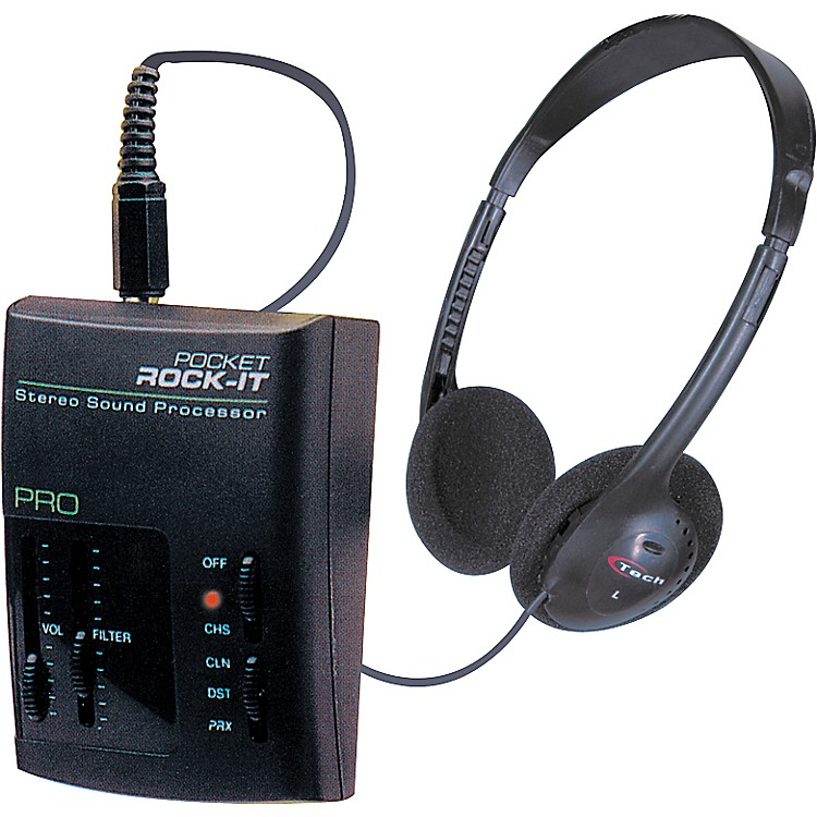 C TechPocket Rock-It Pro Headphone Amp