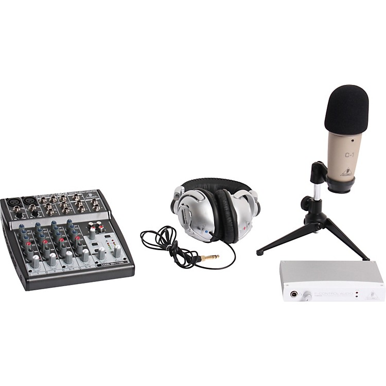 Behringer Podcastudio Bundle with FireWire Interface