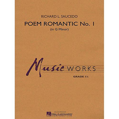 Hal Leonard Poem Romantic No. 1 (In G Minor) Concert Band Level 1