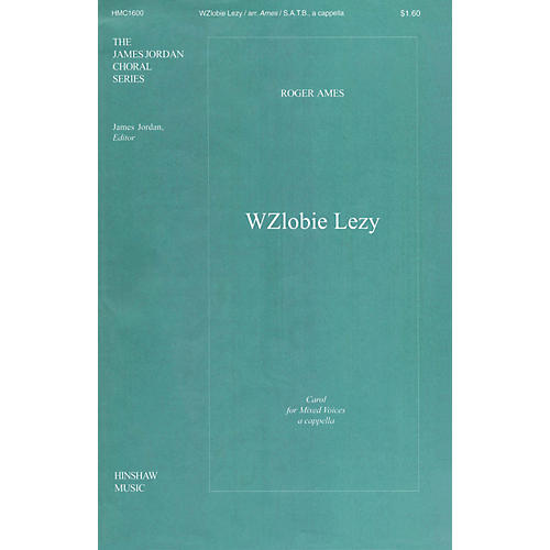 Hinshaw Music Polish Carol (W'zlobie Lezy) SATB composed by Ames-thumbnail