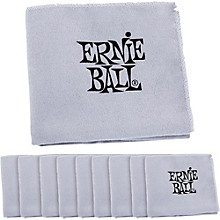 Ernie Ball Polish Cloth 10-Pack