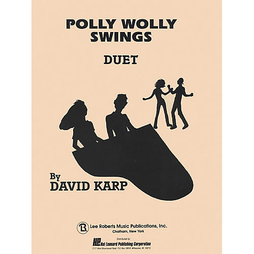 Lee Roberts Polly Wolly Swings (Level 5) Pace Duet Piano Education Series Composed by David A. Karp-thumbnail