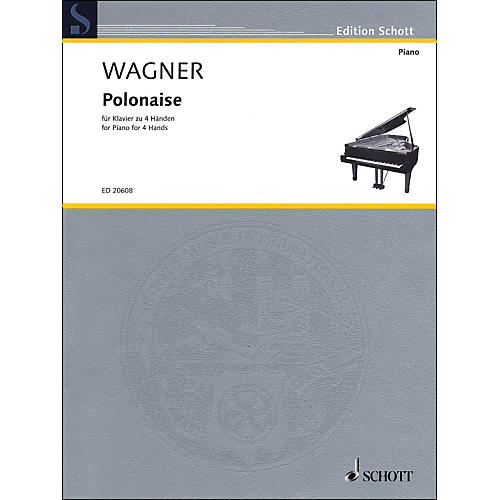 Schott Polonaise for Piano: 4 Hands
