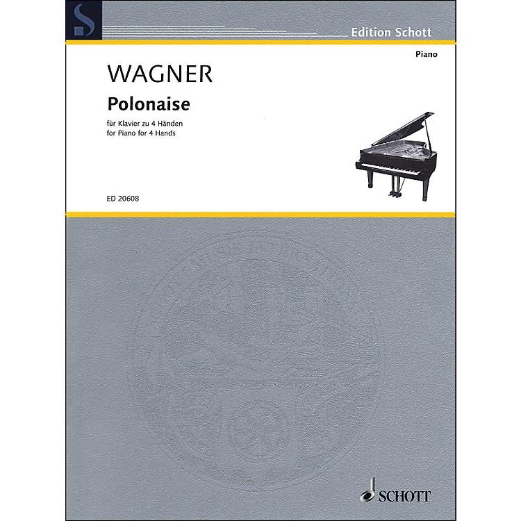 SchottPolonaise for Piano: 4 Hands
