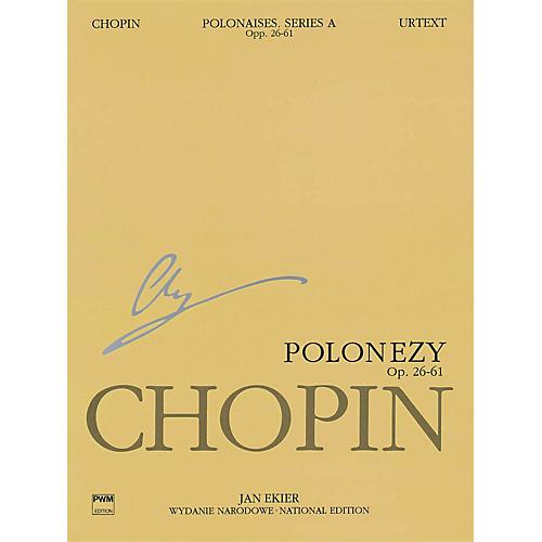 PWM Polonaises Series A: Ops. 26, 40, 44, 53, 61 (Chopin National Edition 6A, Volume VI) PWM Series Softcover-thumbnail