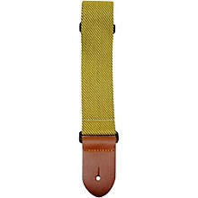 Perri's Polyester Guitar Strap with Leather Ends