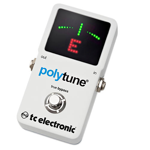 tc electronic polytune 2 pedal tuner musician 39 s friend