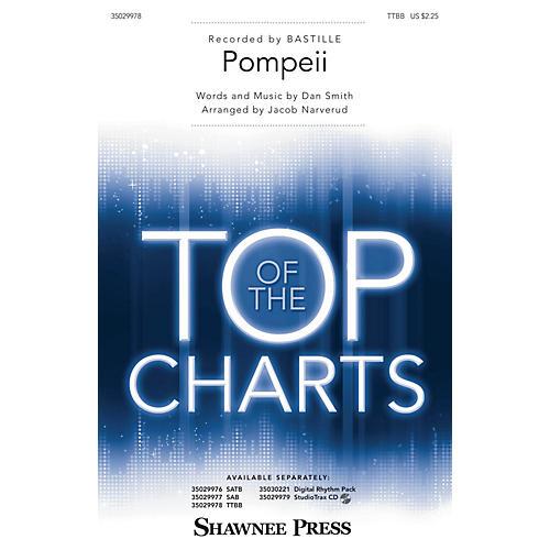 Shawnee Press Pompeii TTBB by Bastille arranged by Jacob Narverud-thumbnail