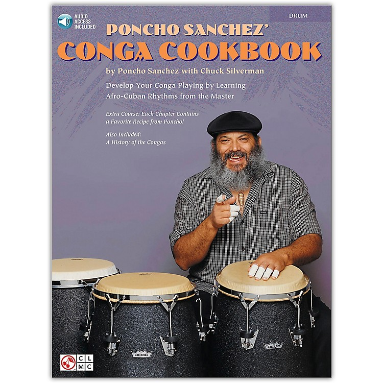 Hal Leonard Poncho Sanchez' Conga Cookbook (Percussion / Conga Drums / Congas)