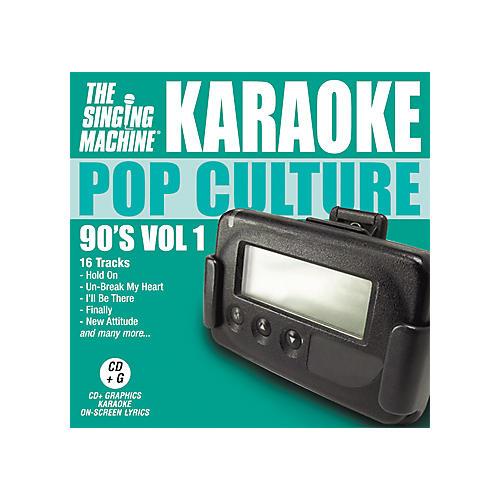 The Singing Machine Pop Culture 90's Volume 1 Karaoke CD+G