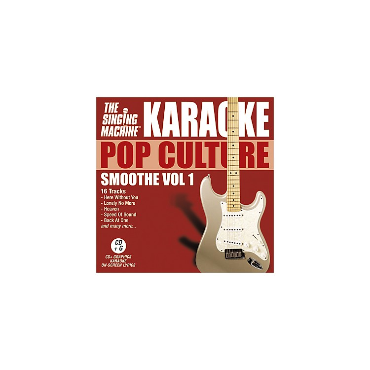 The Singing Machine Pop Culture Smoothe Volume 1 Karaoke CD+G