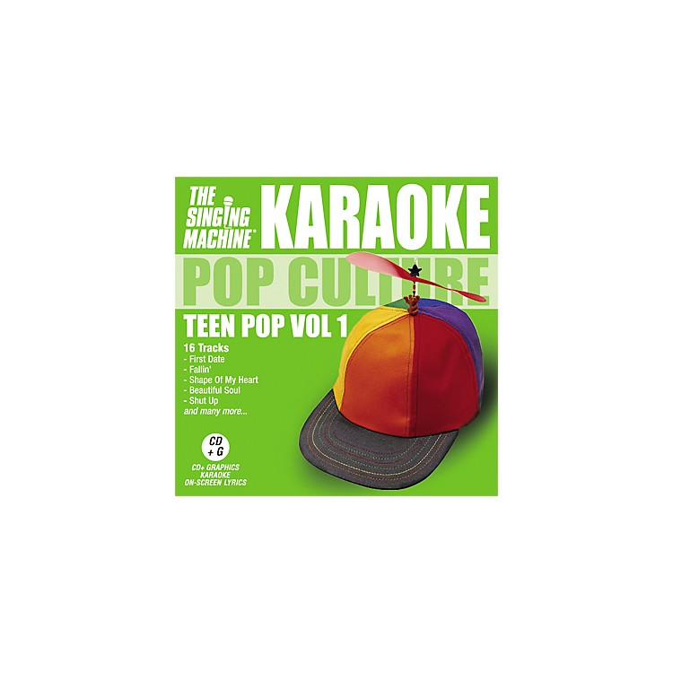 The Singing Machine Pop Culture Teen Pop Volume 1 Karaoke CD+G