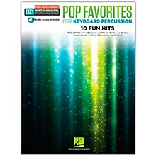 Hal Leonard Pop Favorites for Keyboard Percussion Easy Instrumental Play-Along Book/Audio Online