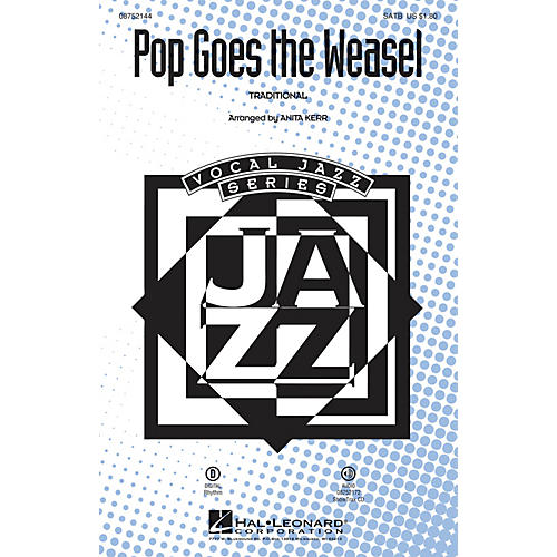 Hal Leonard Pop Goes the Weasel ShowTrax CD Arranged by Anita Kerr