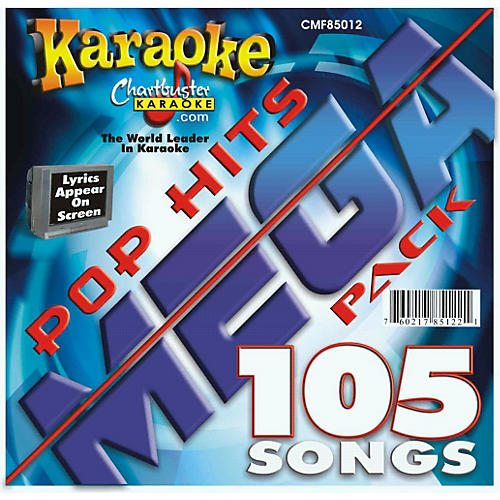 Chartbuster Karaoke Pop Hits Mega Pack CD+G-thumbnail