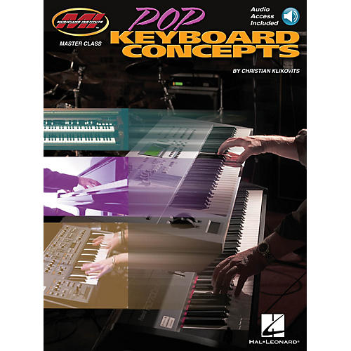 Musicians Institute Pop Keyboard Concepts Musicians Institute Press Series Softcover Audio Online by Christian Klikovits-thumbnail