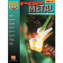 Hal Leonard Pop Metal Bass Play-Along Volume 17 Book/CD