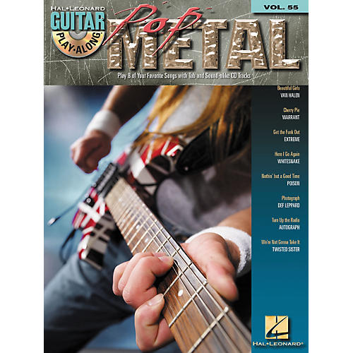 Hal Leonard Pop Metal Guitar Play-Along Series Volume 55 (Book/CD)