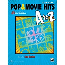 Alfred Pop & Movie Hits A to Z Easy Piano Book