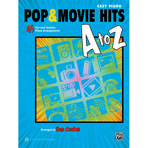 Alfred Pop & Movie Hits A to Z Easy Piano Book-thumbnail