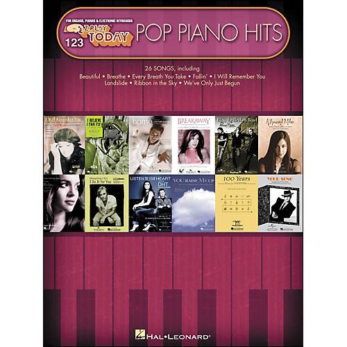 Hal Leonard Pop Piano Hits E-Z Play 123