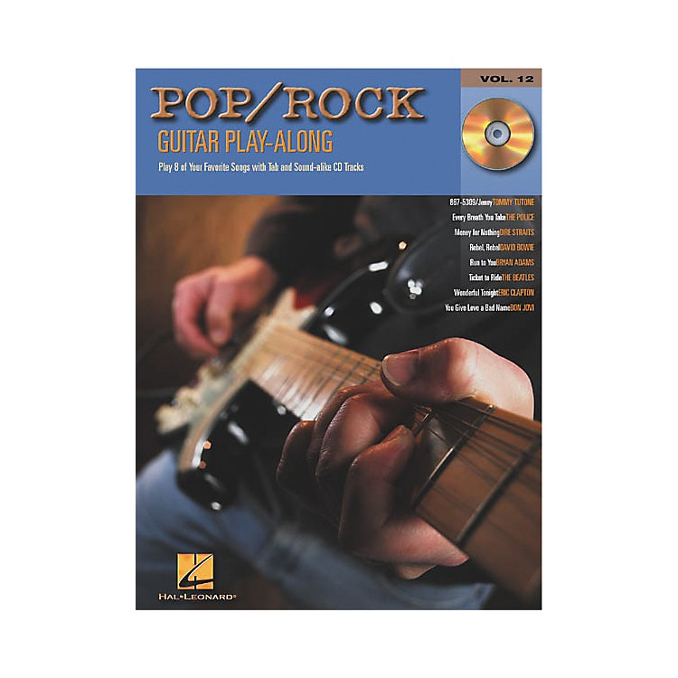 Hal Leonard Pop/Rock Guitar Play-Along Series Book with CD
