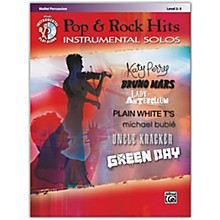 Alfred Pop & Rock Hits Instrumental Solos Mallet Book & CD Level 2-3