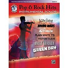 Alfred Pop & Rock Hits Instrumental Solos Viola Book & CD