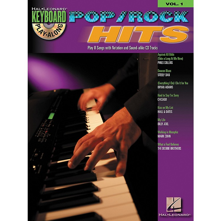 Hal Leonard Pop Rock Hits: Keyboard Play-Along Series, Volume 1 (Book/CD)