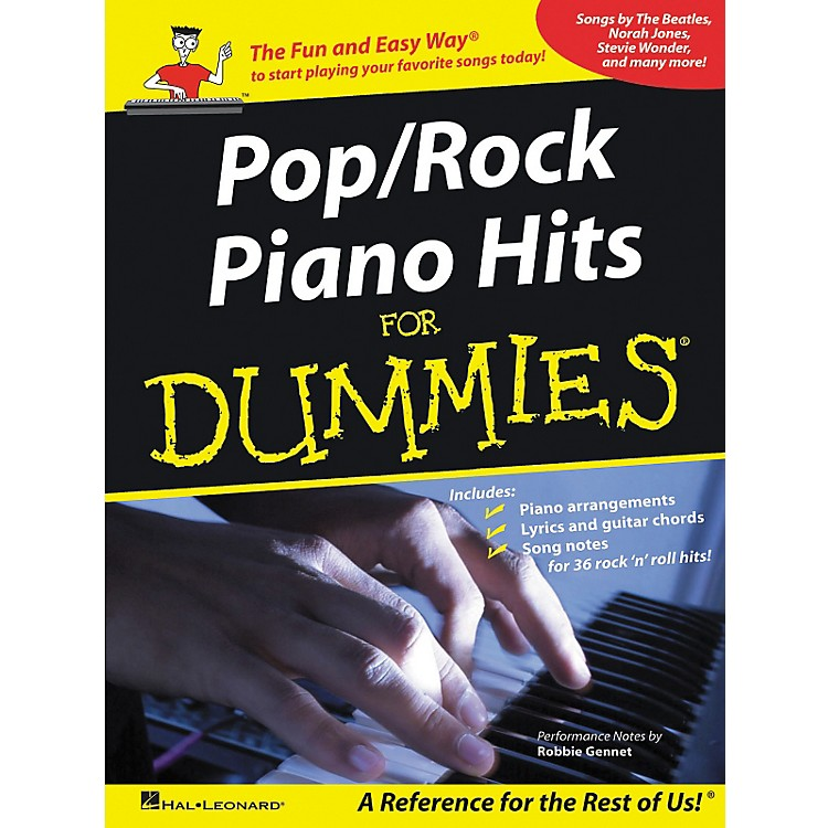 hal leonard pop rock piano hits for dummies piano vocal guitar songbook musician 39 s friend. Black Bedroom Furniture Sets. Home Design Ideas