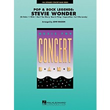Hal Leonard Pop and Rock Legends: Stevie Wonder Concert Band Level 4-5 Arranged by John Wasson