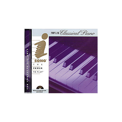 iSong Popular Classical Piano (CD-ROM)