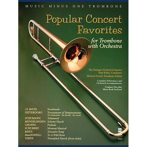 Music Minus One Popular Concert Favorites Music Minus One Series Softcover with CD Composed by Various-thumbnail