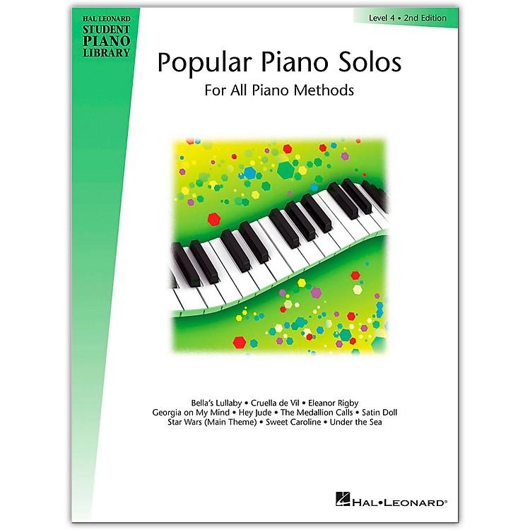 Hal LeonardPopular Piano Solos Book 4 Hal Leonard Student Piano Library