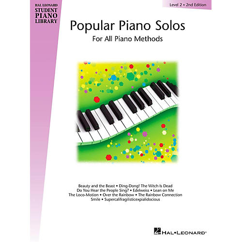 Hal Leonard Popular Piano Solos Level 2 (2nd Edition)-thumbnail