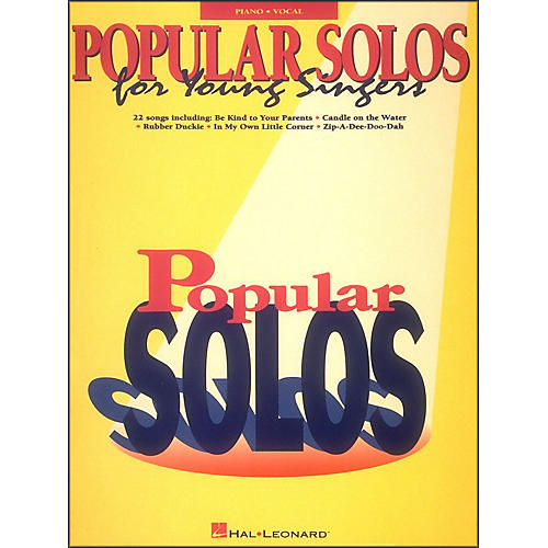 Hal Leonard Popular Solos for Young Singers-thumbnail