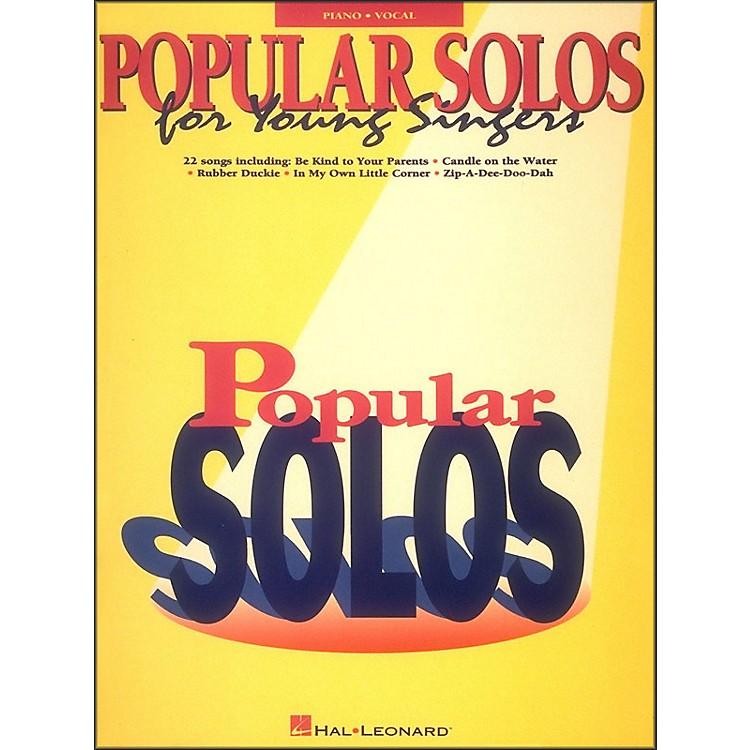 Hal Leonard Popular Solos for Young Singers