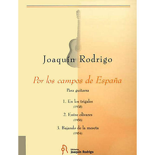 Schott Por Los Campos De Espana (Solo Guitar Ediciones Joaquin Rodrigo) Schott Series by Joaquin Rodrigo-thumbnail